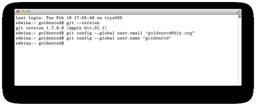 install git mac terminal
